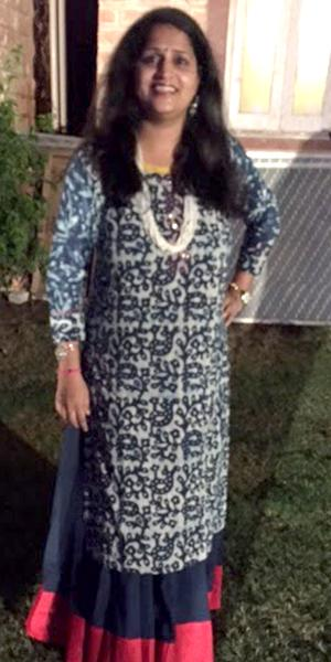 Khushboo Mehta after